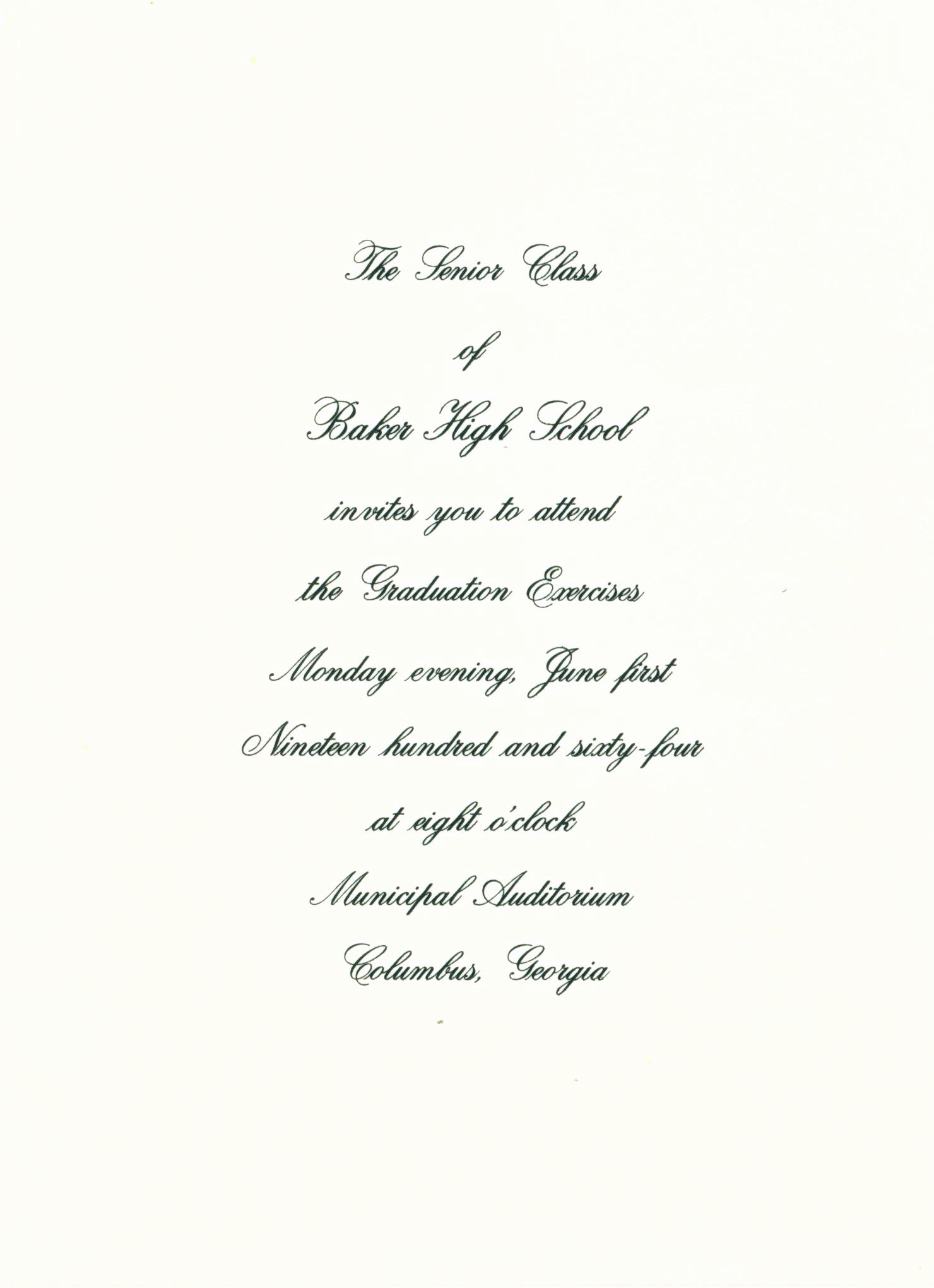 Graduation Invitation Letter Sample Fresh the Baker Scrapbook