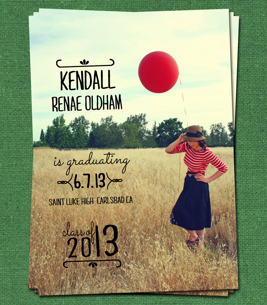 Graduation Invitation Name Cards Best Of Graduation Custom Announcement Diy Printable Personalized