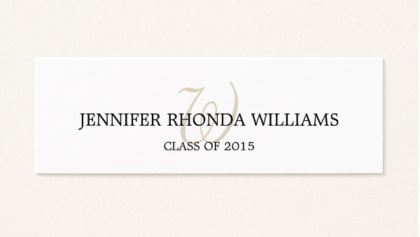 Graduation Invitation Name Cards Inspirational 8 Graduation Name Cards Psd Vector Eps Png