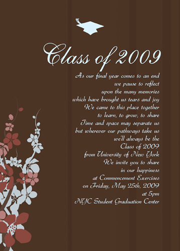 Graduation Invitation Quotes and Sayings Luxury High School Graduation Quotes From Parents Quotesgram