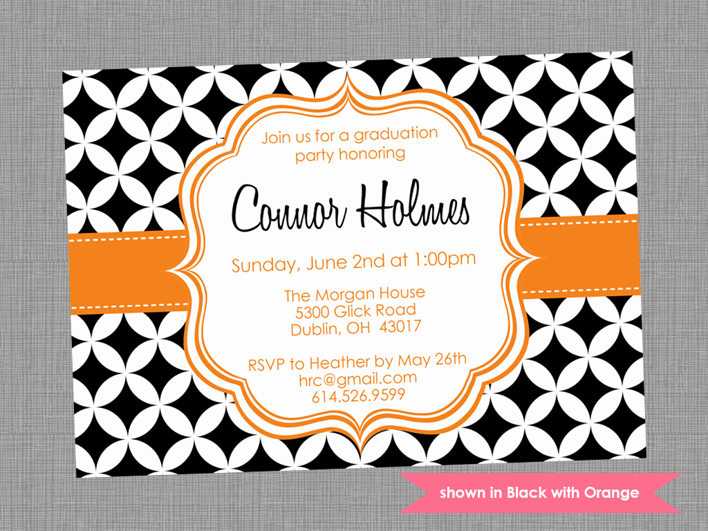 Graduation Invitation Template Free Lovely Graduation Party Invite Templates