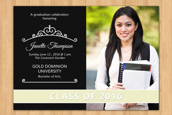 Graduation Invitation Templates 2016 Beautiful Good Looking Graduation Announcement Templates