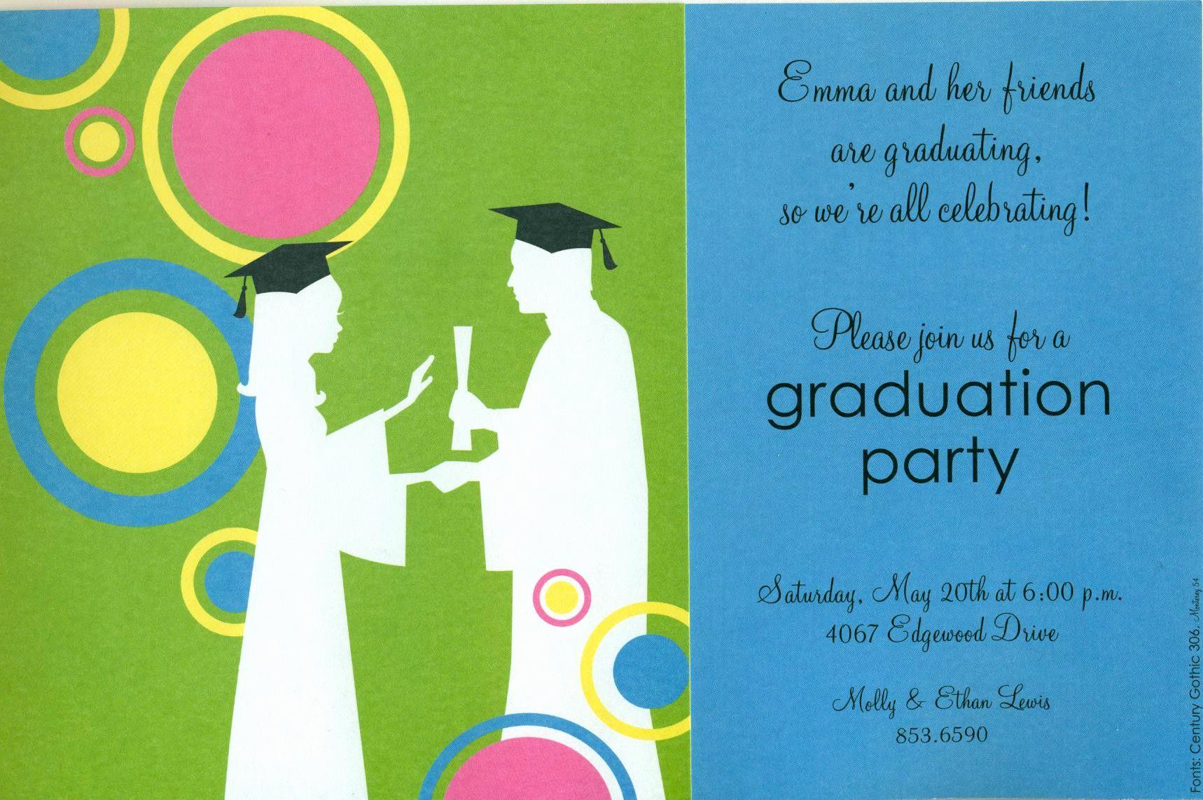 Graduation Invitation Templates 2016 Elegant Graduation Invitation Template Graduation Invitation