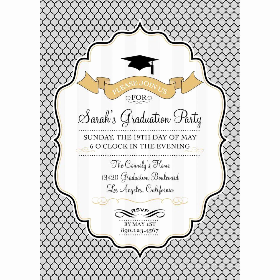 Graduation Invitation Templates Free Awesome Graduation Invitation Templates Free Photoshop