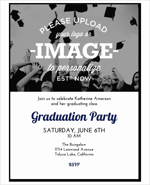 Graduation Invitation Templates Free Download New 37 Invitation Templates Word Pdf Psd Publisher