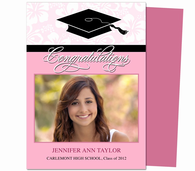 Graduation Invitation Templates Microsoft Publisher Awesome 46 Best Printable Diy Graduation Announcements Templates