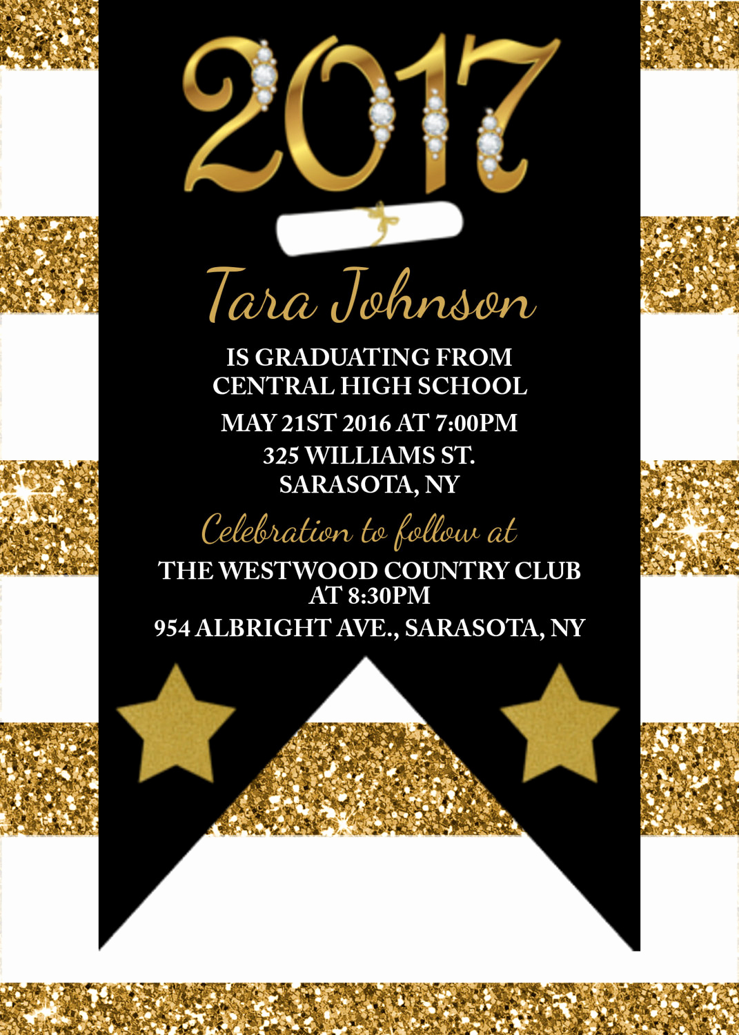Graduation Invitation Templates Microsoft Publisher Unique Graduation Invite Templates Free