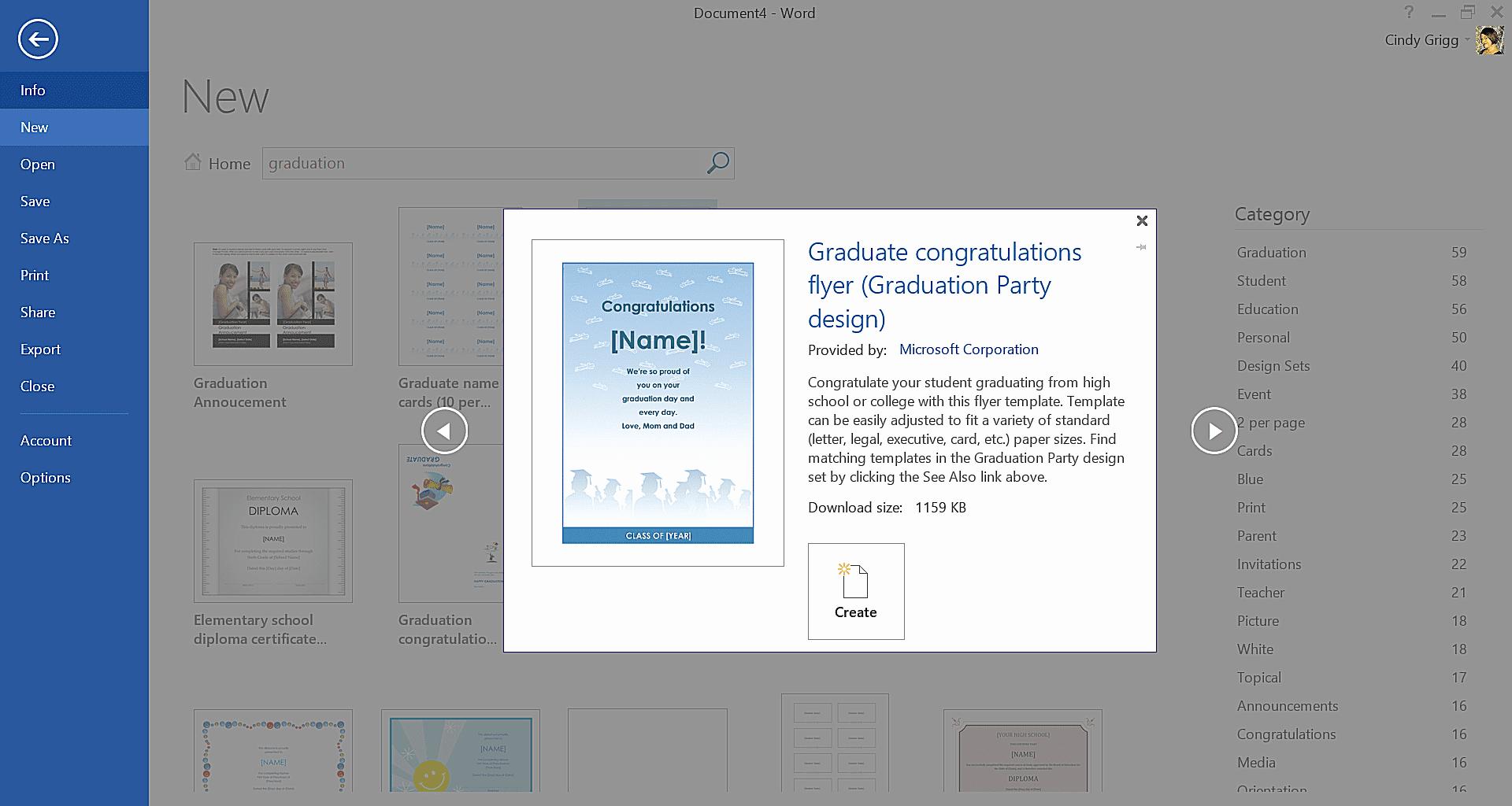Graduation Invitation Templates Microsoft Word Elegant Get Microsoft S Best Graduation Templates