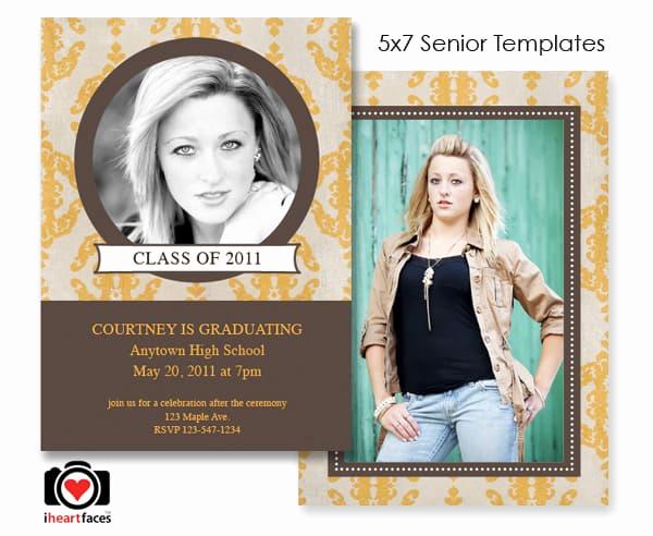 Graduation Invitation Templates Photoshop Fresh Free Graduation Shop Templates