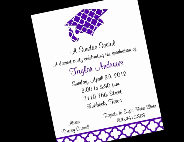 Graduation Invitation Text Message Awesome Best 25 Graduation Invitation Wording Ideas On Pinterest