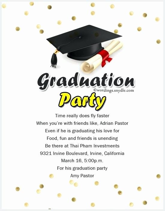 Graduation Invitation Text Message Beautiful Graduation Invitation Message – Altwell