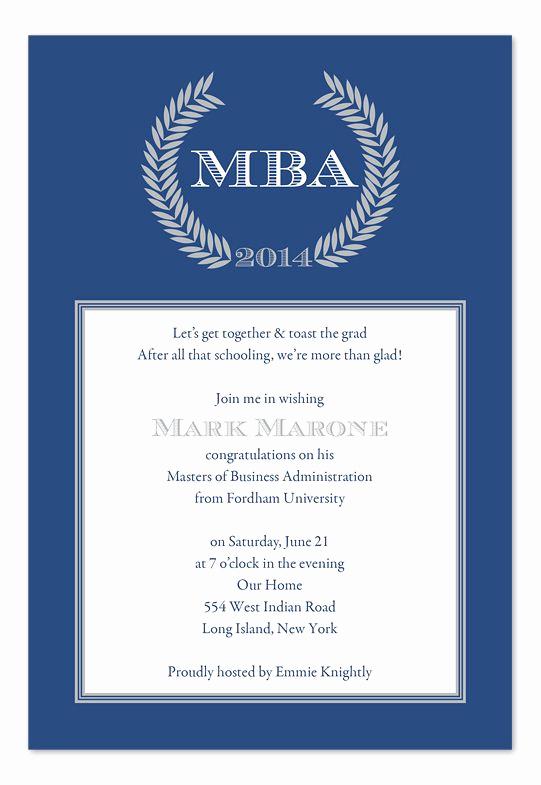 Graduation Invitation Text Message Elegant Graduation Invitation Wording