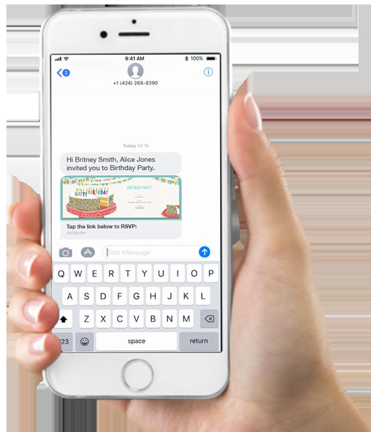 Graduation Invitation Text Message New Send Party & event Invitations by Text Message Evite