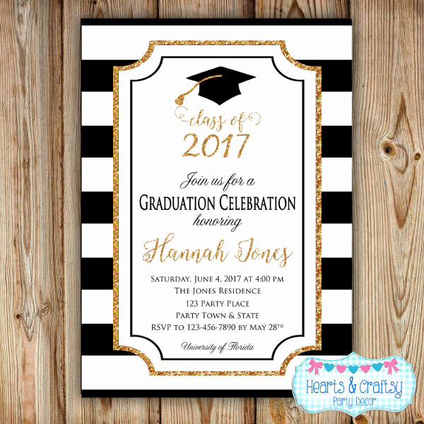 Graduation Invitation Wording High School Awesome 49 Graduation Invitation Designs & Templates Psd Ai