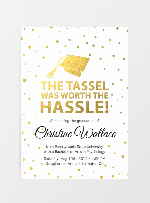 Graduation Invitation Wording High School Fresh Printable Graduation Invitation Graduation Announcement