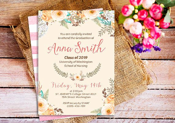 Graduation Invitation Wording High School Lovely Best 25 Graduation Invitation Wording Ideas On Pinterest