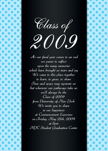 Graduation Invitation Wording High School Unique Poems Graduation Cards