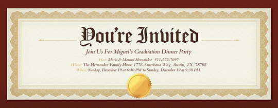 Graduation Luncheon Invitation Wording New Free Graduation Party Invitations