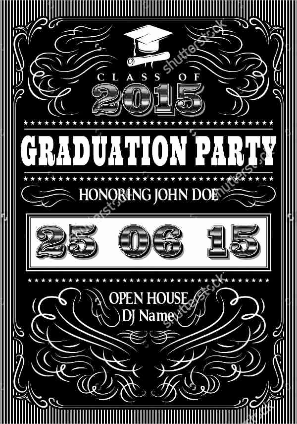 Graduation Open House Invitation Fresh 48 Sample Graduation Invitation Designs & Templates Psd