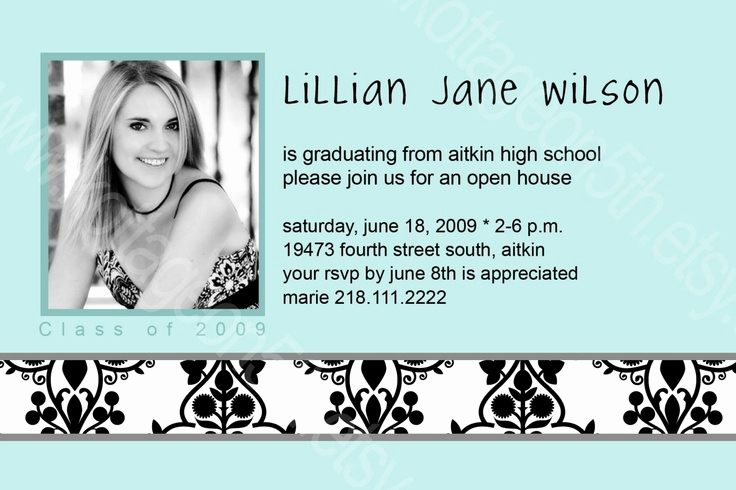 Graduation Open House Invitation Ideas Awesome Best 25 Graduation Open Houses Ideas On Pinterest
