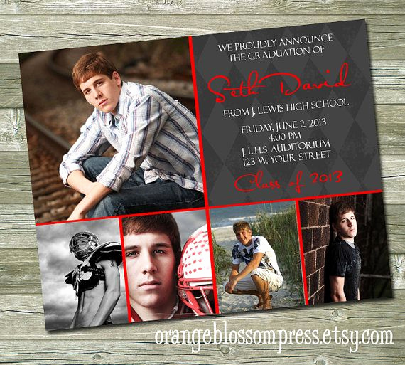 Graduation Open House Invitation Ideas Lovely Modern Custom Graduation Announcement Invitation