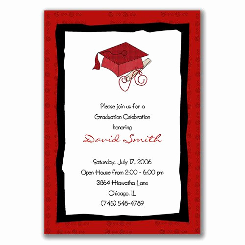 Graduation Open House Invitation Templates Awesome 21 Best Open House Invitation Wording Images On Pinterest