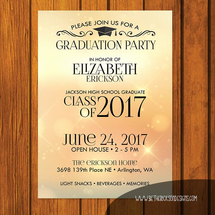 Graduation Open House Invitation Templates Fresh Best 25 Open House Invitation Ideas On Pinterest