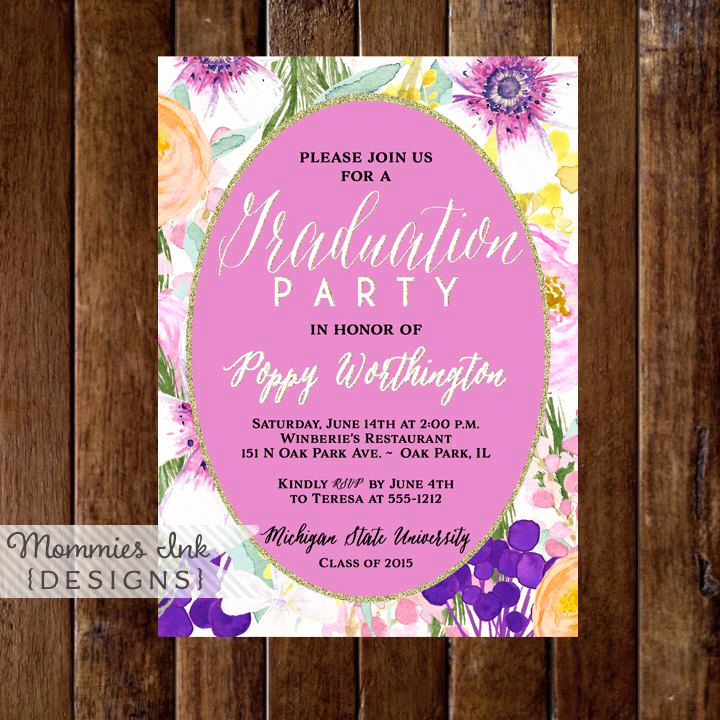 Graduation Open House Invitation Templates Inspirational 25 Best Ideas About Open House Invitation On Pinterest