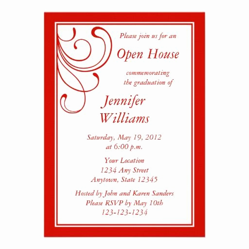 Graduation Open House Invitation Wording Elegant 24 Best Images About Open House Party On Pinterest