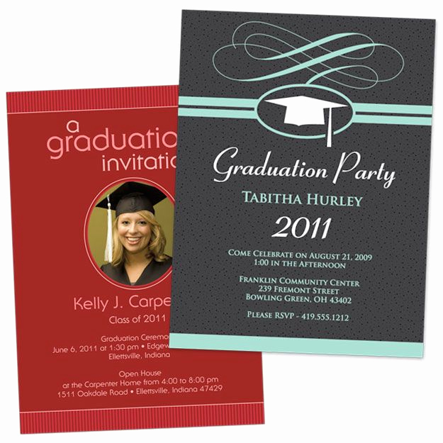 Graduation Party Invitation Cards Awesome Free Printable Graduation Invitations