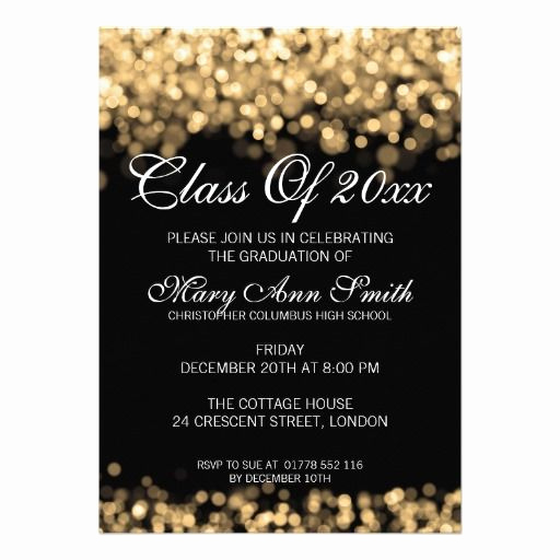 Graduation Party Invitation Cards Unique 137 Best Elegant Graduation Invitations Images On