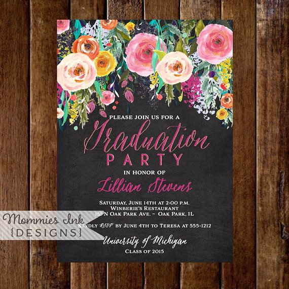 Graduation Party Invitation Ideas Awesome 25 Best Ideas About Open House Invitation On Pinterest