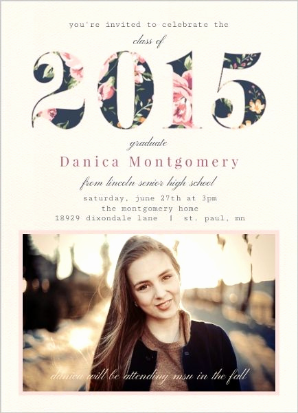 Graduation Party Invitation Ideas Luxury Best 25 Graduation Invitations Ideas On Pinterest