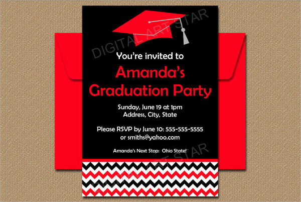 Graduation Party Invitation Maker Unique 31 Examples Of Graduation Invitation Designs Psd Ai