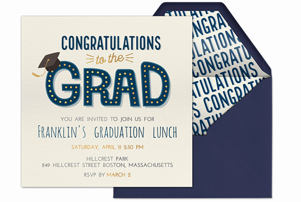 Graduation Party Invitation Messages Luxury Learn From the Pros How to Word A Graduation Invitation