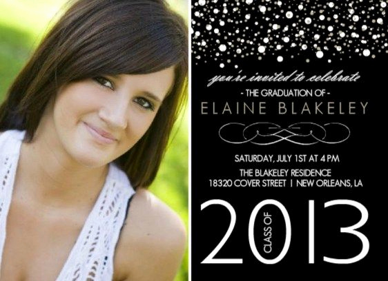 Graduation Party Invitation Messages New High School Graduation Party Ideas
