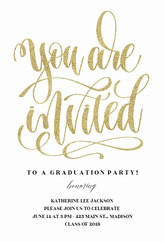 Graduation Party Invitation Template Free Unique 118 Best Graduation Party Invitation Templates Images On