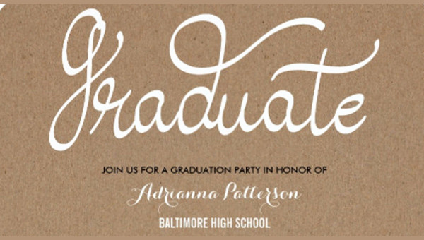 Graduation Party Invitation Template Word Lovely 50 Graduation Invitation Templates Psd Ai Word