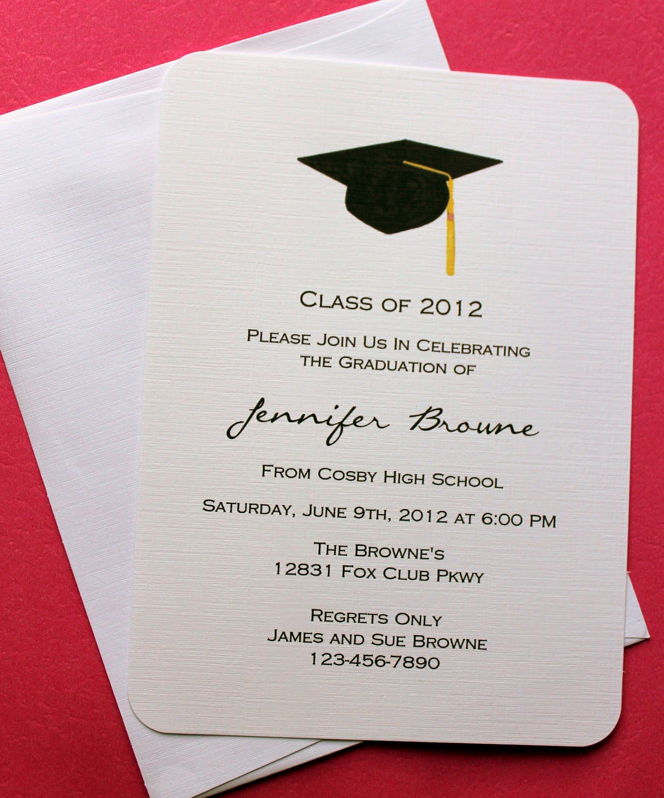 Graduation Party Invitation Template Word New Graduation Invitation Template Graduation Invitation