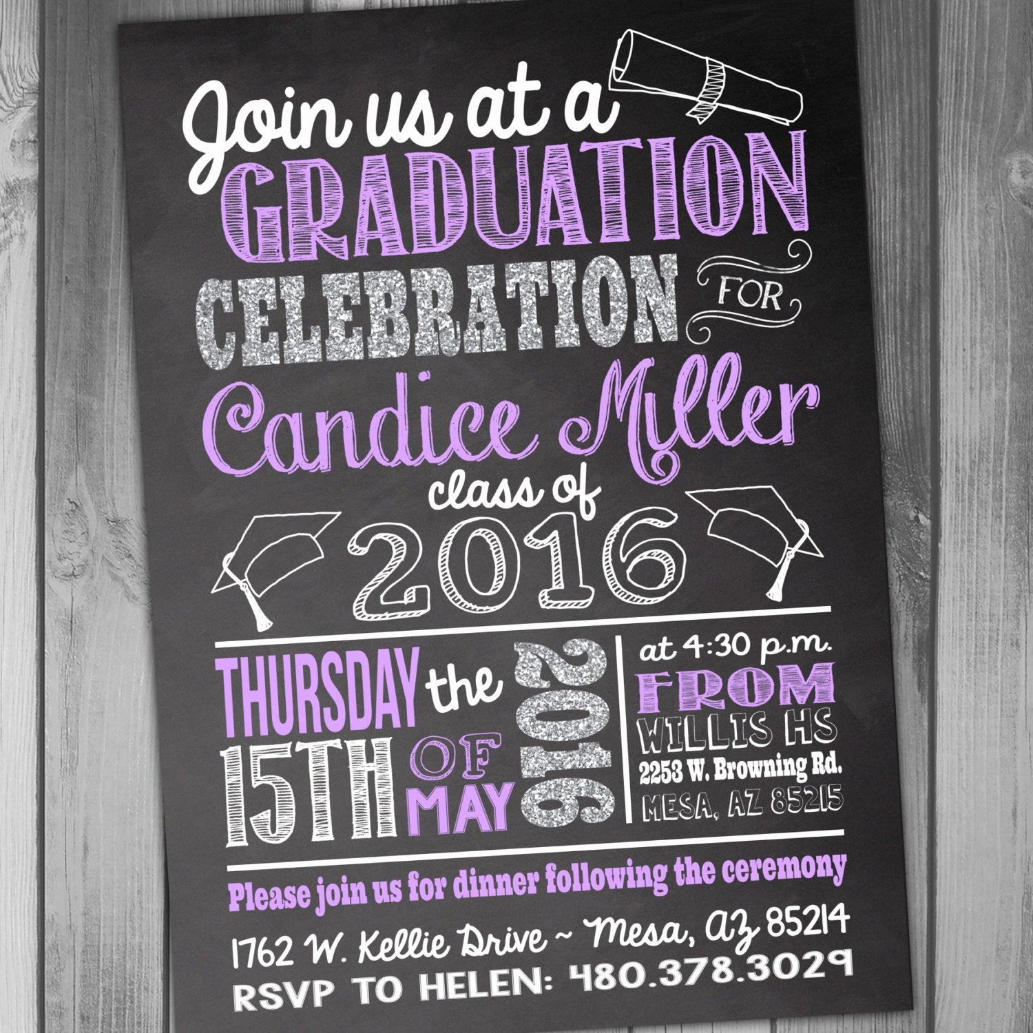 Graduation Party Invitation Wording Awesome Graduation Invitation High School Graduation Graduation Party