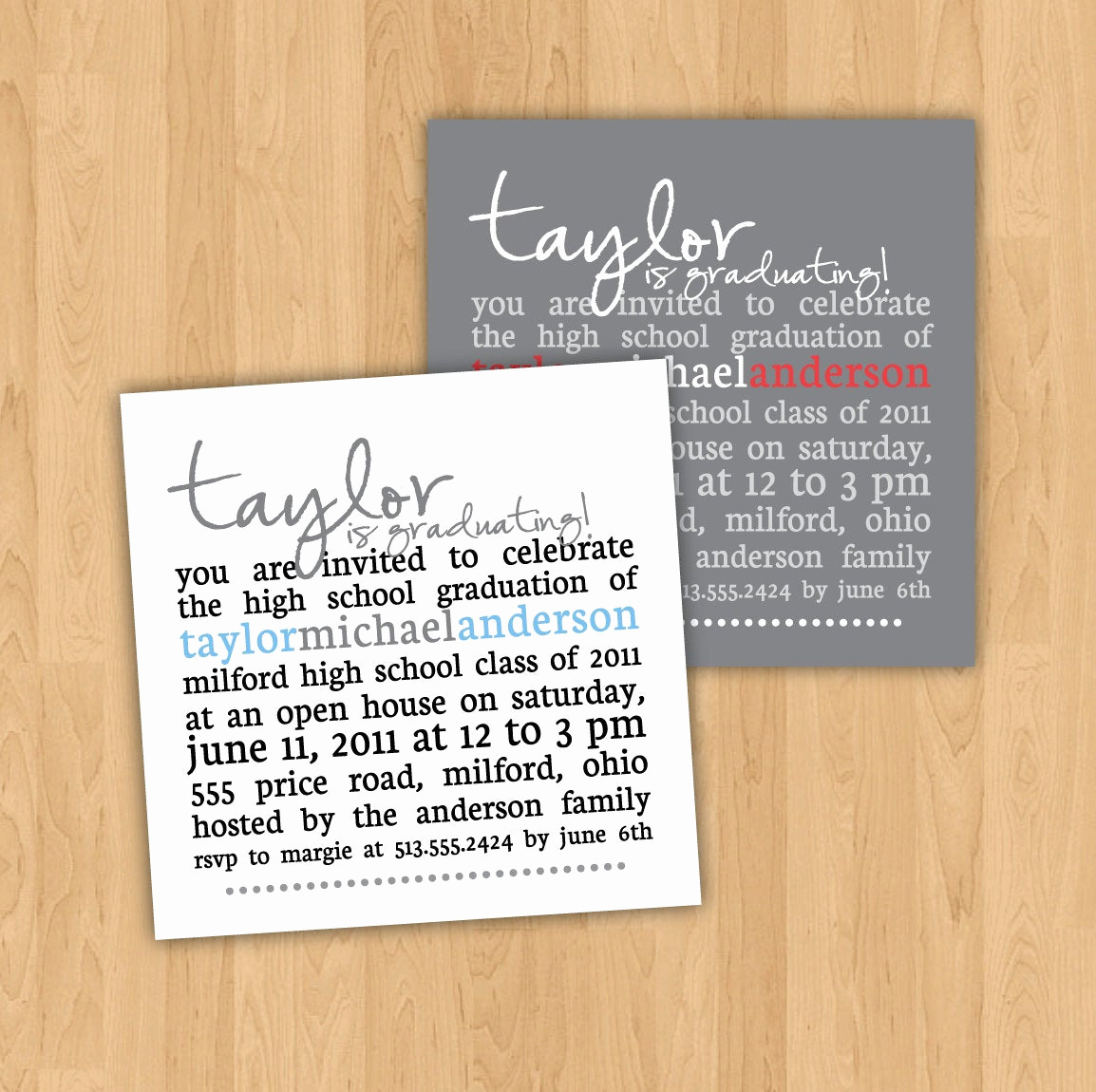 Graduation Party Invitation Wording Best Of Graduation Party Invitation Square Party Invitation