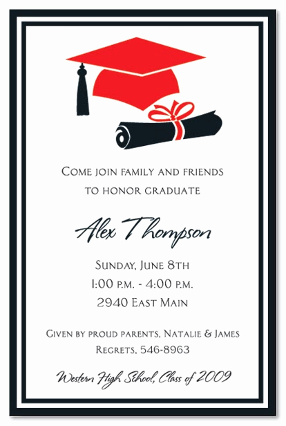 Graduation Party Invitation Wording Ideas Luxury Bridal Shower Invitations Graduation Party Invitations