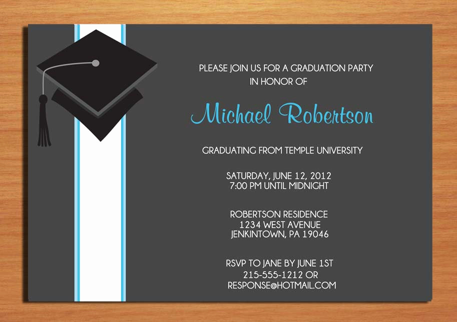 Graduation Party Invitation Wording Samples Best Of Examples Of Graduation Party Invitations Wording