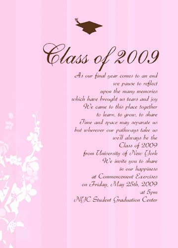 Graduation Party Invitation Wording Unique Graduation Celebration Quotes Quotesgram