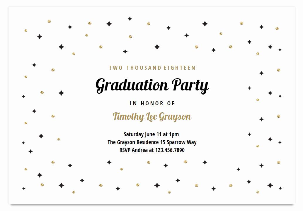 Graduation Reception Invitation Template New 7 Free Printable Graduation Invitations Templates