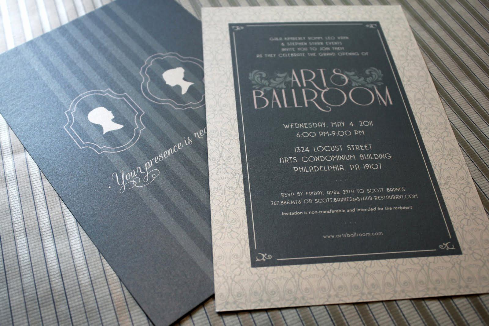 Grand Opening Invitation Ideas Awesome Arts Ballroom Grand Opening