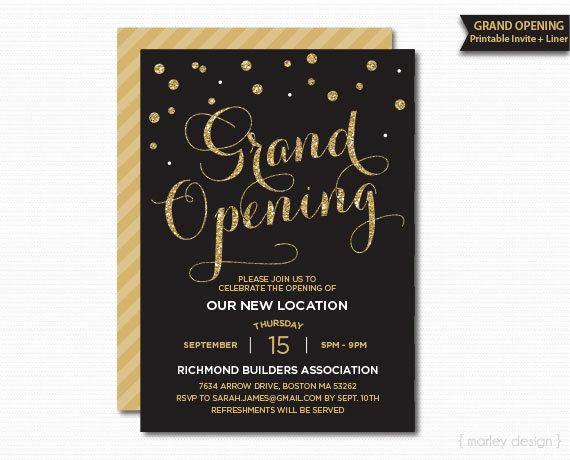 Grand Opening Invitation Ideas Best Of Best 25 Grand Opening Ideas On Pinterest