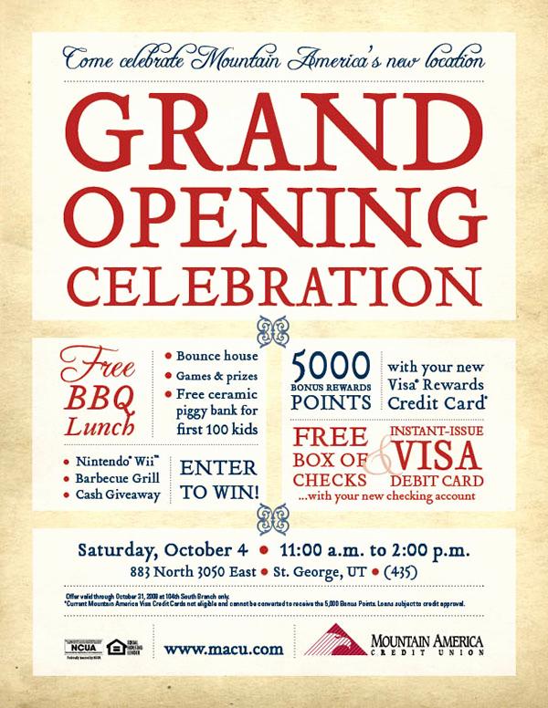 Grand Opening Invitation Ideas Elegant Grand Opening Invitation On Behance