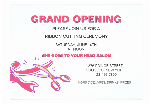 grand opening invitation template free opening event invitation template1