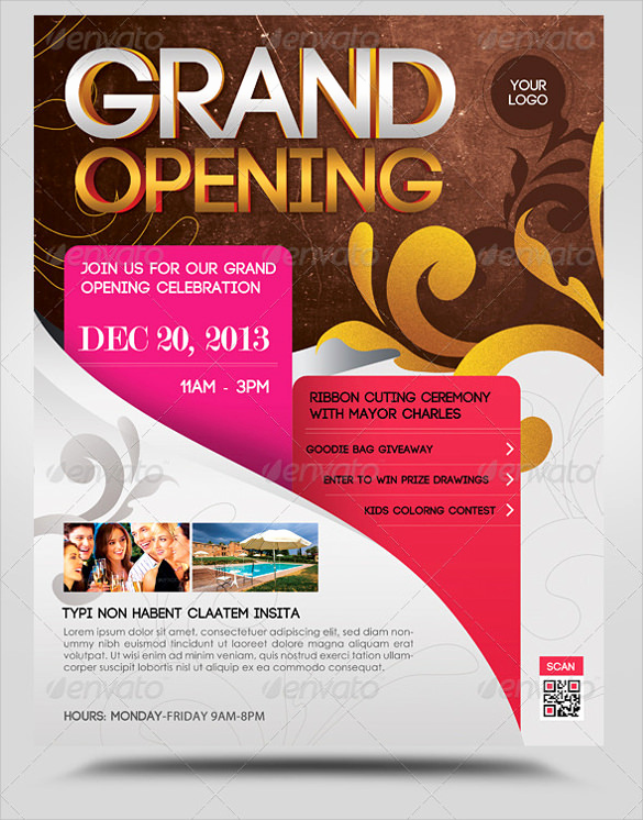 Grand Opening Invitation Template Inspirational 28 Grand Opening Flyer Templates Psd Docs Pages Ai